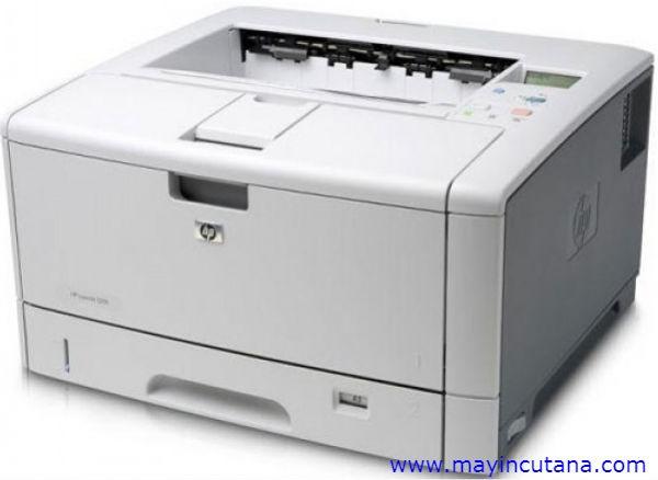MÁY IN A3 HP LASERJET 5200DN CŨ (in A3,Network,In Đảo Mặt)